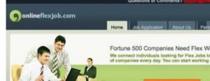 online flex job scam review - homepage