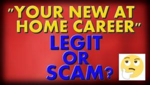 Your New At Home Career Review: