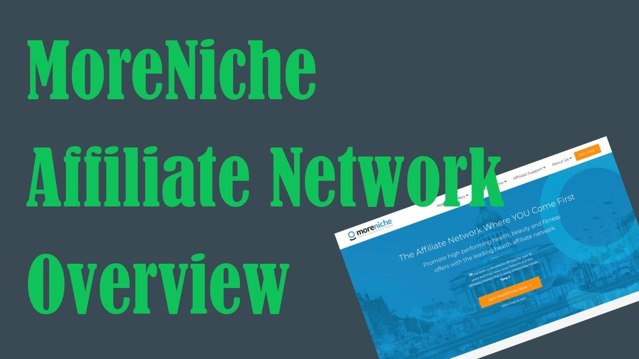 Moreniche affiliate network review