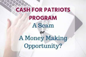 Cash for Patriots Program review,